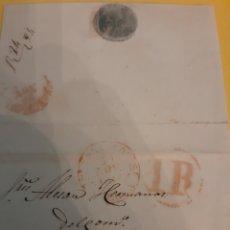 Cartas comerciales: 1847 SRS.ALTESAN HERMANOS BARCELONA. Lote 190847990