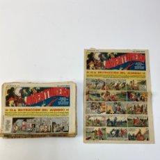 Cartas comerciales: RV- 170. LOTE DE 41 COMICS AVENTURERO, DEL Nº20 AÑO 1935-HASTA Nº 61. JULIO AÑO 1936.. Lote 191894267