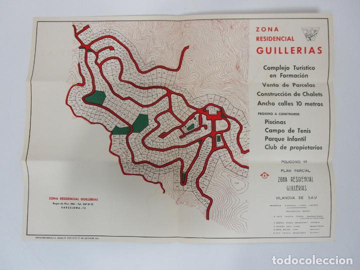 Cartas comerciales: Carta Comercial, Tarjeta Postal Publicitaria y Mapa - Zona Residencial Guillerias, Vilanova de Sau - Foto 6 - 192910408
