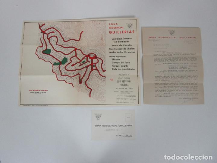 Cartas comerciales: Carta Comercial, Tarjeta Postal Publicitaria y Mapa - Zona Residencial Guillerias, Vilanova de Sau - Foto 8 - 192910408