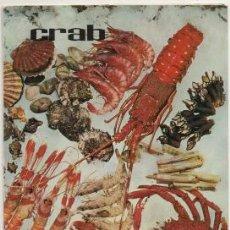 Cartas comerciales: CARTAMENU RESTURANTE CRAB. COMIDAS Y POSTRES. BARCELONA 1970 CARTAMENU-208. Lote 193911020
