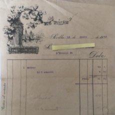 Cartas comerciales: CARTA COMERCIAL BAZAR SEVILLANO . SEVILLA AÑO 1942. Lote 194782455