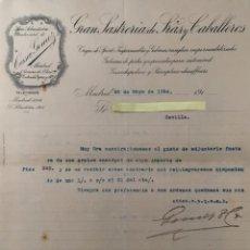 Cartas comerciales: CARTA COMERCIAL CASA GÓMEZ AÑO 1914. Lote 195385028
