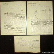 Cartas comerciales: RICARDO DE DAMBORENEA. AUTOMÓVILES Y VELOCÍPEDOS. BILBAO, 1906. MODELOS Y PRECIOS DE AUTOS.. Lote 195493917