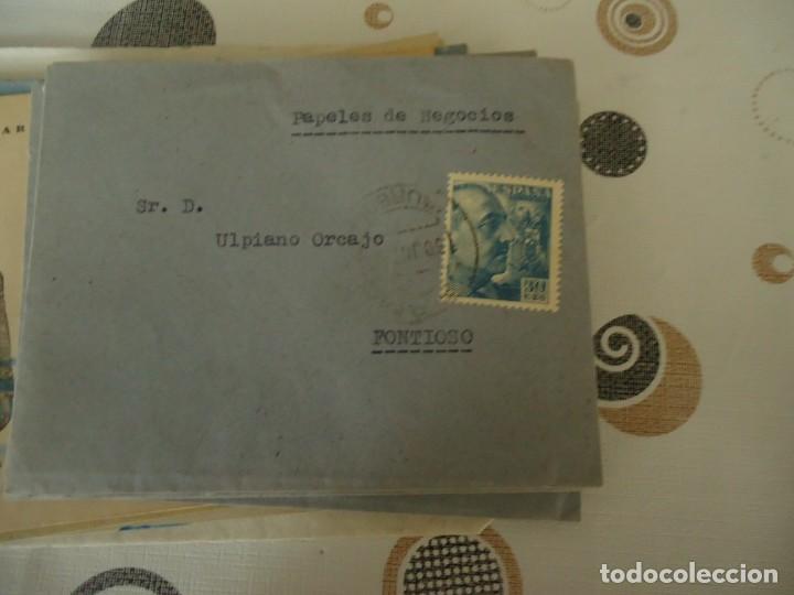 CARTAS DE NEGOCIOS AÑO 1953 (Coleccionismo - Documentos - Cartas Comerciales)
