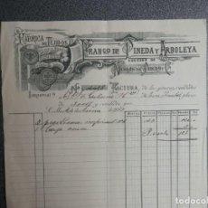 Cartas comerciales: SEVILLA CARTA COMERCIAL AÑO 1913 FÁBRICA DE TEJIDOS FRANCISCO DE PINEDA Y ARBOLEYA. Lote 198323462