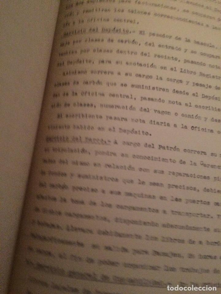 Cartas comerciales: PROYECTO DEPOSITO CARBONES COMPLETO 1938 - Foto 4 - 198879246