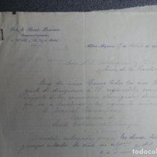 Cartas comerciales: ALFARO LA RIOJA CARTA COMERCIAL AÑOS 1935 OTÓN DE BENITO PASAMAR CORRESPONSAL PERIODISTA. Lote 198958155