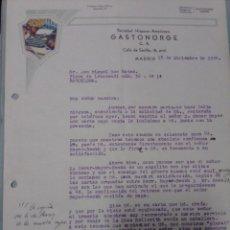 Cartas comerciales: CARTA COMERCIAL 1934 AGENTE IBM EN ESPAÑA. Lote 199035202