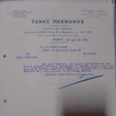 Cartas comerciales: CARTA 1934 ENVÍO EN BARCO DE VAPOR AGENTE IBM EN ESPAÑA. Lote 199035990