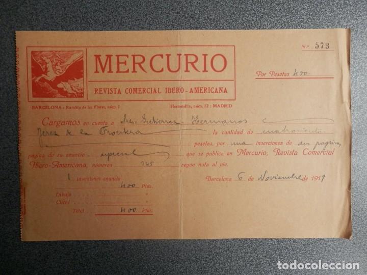 BARCELONA LOTE 13 CARTAS COMERCIALES AÑOS 1891-1935 DIFERENTES - COMERCIO VINOS LICORES (Coleccionismo - Documentos - Cartas Comerciales)