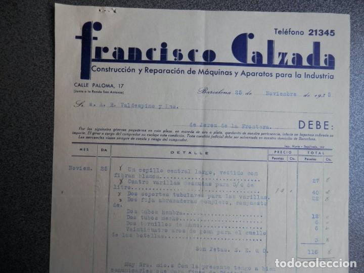 Cartas comerciales: BARCELONA LOTE 13 CARTAS COMERCIALES AÑOS 1891-1935 DIFERENTES - COMERCIO VINOS LICORES - Foto 12 - 199507436
