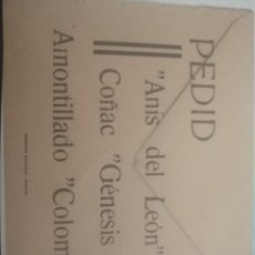 Cartas comerciales: DOCUMENT O ANTIGUO. Lote 199883745
