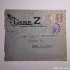 Cartas comerciales: ANTIGUA SOBRE INTERVENIDO - ICENSURA MILITAR BARCELONA - MONJO (TARRAGONA) AÑOS 40 / N-3864. Lote 200004692