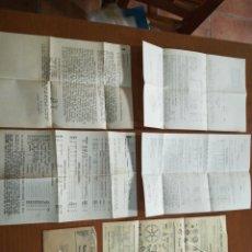 Cartas comerciales: LOTE DOCUMENTOS COMERCIALES SOBRE PUBLICIDAD MUGICA ARELLANO COMPAÑÍA PAMPLONA 1935. Lote 200176828