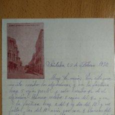 Cartas comerciales: CARTA COMERIAL SADABA ZARAGOZA, 1930.. Lote 200390070