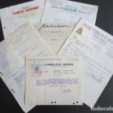 Cartas comerciales: SEIS CARTAS COMERCIALES DIVERSAS INDUSTRIAS A ORENSE 1932/1956, VER FOTOS ADICIONALES + INFO. Lote 200400945