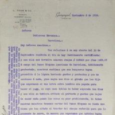 Lettres commerciales: CARTA COMERCIAL. L. TOUS & Cº. GUAYAQUIL 1914. Lote 200403445