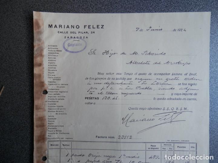 Cartas comerciales: ZARAGOZA LOTE 10 CARTAS COMERCIALES AÑO 1924-32 DIFERENTES FÁBRICAS, COMERCIOS... - Foto 5 - 202974163