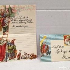 Cartas comerciales: ANTIGUA CARTA REYES MAGOS AÑO 1960. Lote 222606862