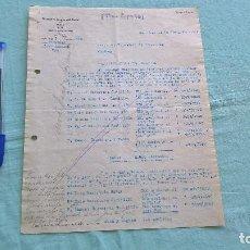 Cartas comerciales: FUERZAS Y RIEGOS DEL CANAL DEL ESLA..ZARAGOZA..11 NOVIEMBRE 1937..¡ VIVA ESPAÑA ¡. Lote 205694233