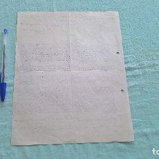 Cartas comerciales: RAMON GONZALEZ..AGENTE COMERCIAL..LA CORUÑA..24 ENERO 1938..SEGUNDO AÑO TRINFAL... Lote 205705530