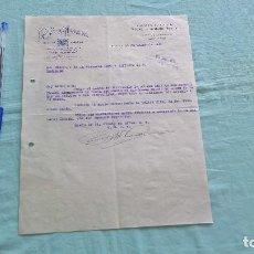 Cartas comerciales: LA VASCO NAVARRA..BADAJOZ..18 MARZO 1939. Lote 205708678