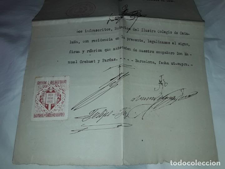 Cartas comerciales: Antiguo Certificado de Nacimiento año 1935 - Foto 10 - 206262641