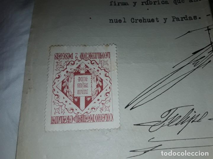 Cartas comerciales: Antiguo Certificado de Nacimiento año 1935 - Foto 11 - 206262641
