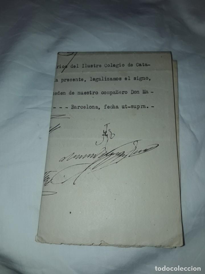 Cartas comerciales: Antiguo Certificado de Nacimiento año 1935 - Foto 12 - 206262641