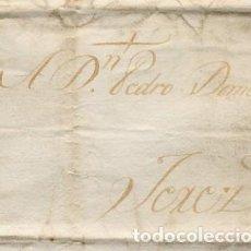 Cartas comerciales: CARTA COMERCIAL AÑO 1823 SANLUCAR DE BARRAMEDA A JEREZ DE LA FRONTERA - SIN MARCA POSTAL - FOTO AD.. Lote 206267585