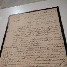 Cartas comerciales: JESÚS CANTOS COMISIONISTA VALENCIA 1902. Lote 210351205