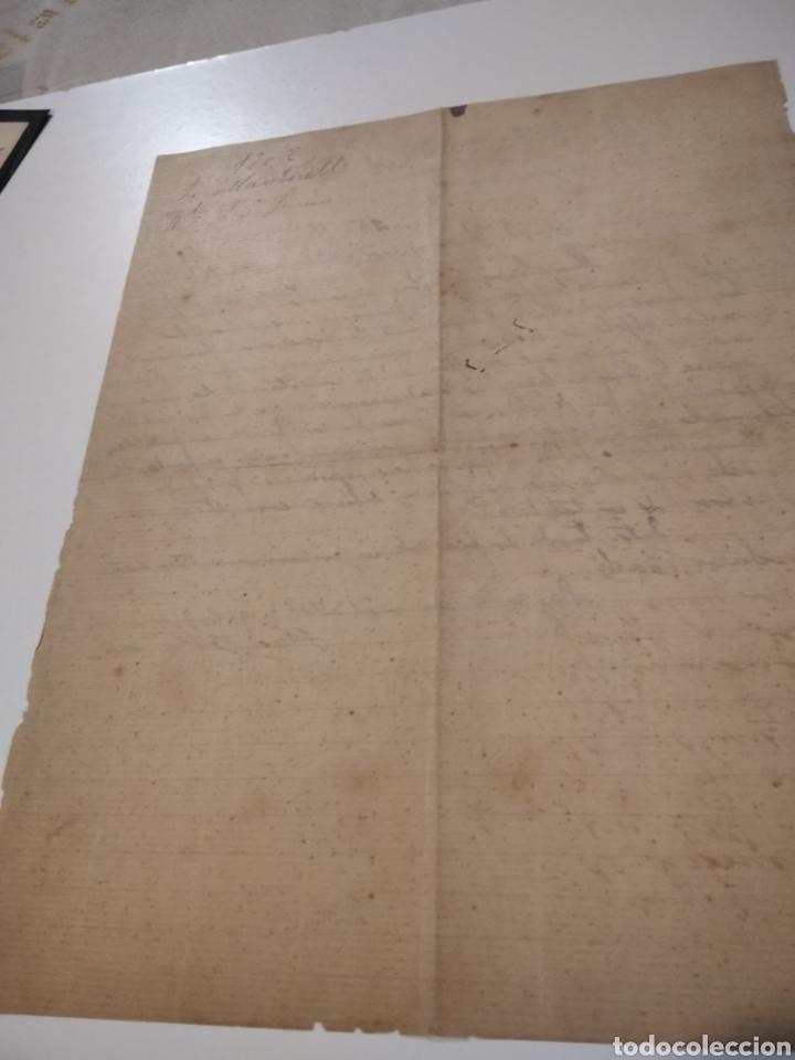Cartas comerciales: José. Martorell y Cuni abogado y procurador de los tribunales Barcelona 1902 - Foto 3 - 210351312
