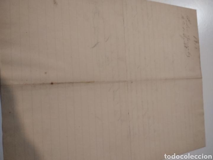 Cartas comerciales: Carta comercial Pedro González vendedor de lingotes de hierro para fundiciones 1902 - Foto 4 - 210351411