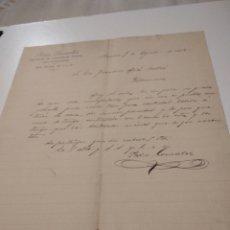 Cartas comerciales: CARTA COMERCIAL PEDRO GONZÁLEZ VENDEDOR DE LINGOTES DE HIERRO PARA FUNDICIONES 1902. Lote 210351411