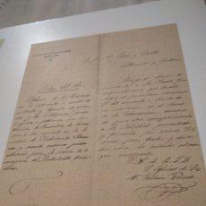 Cartas comerciales: CARTA COMERCIAL ASOCIACION DE PATRONOS FUNDIDORES BARCELONA 1901. Lote 210351521