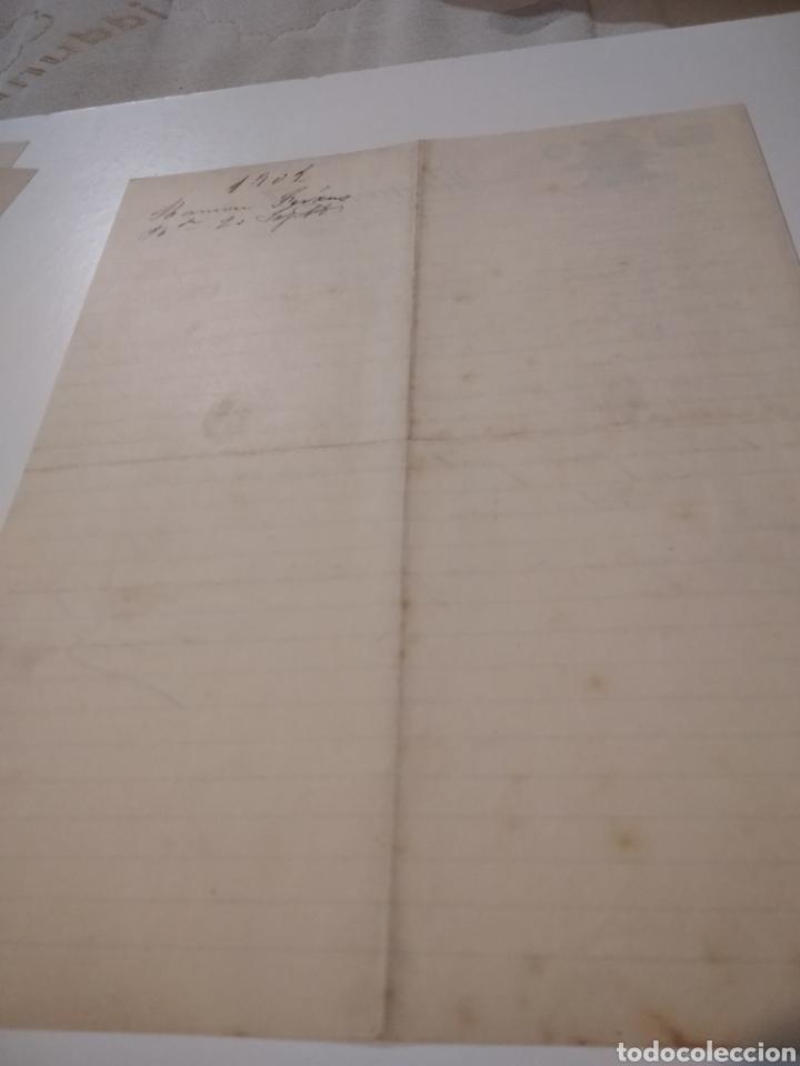 Cartas comerciales: Ramón Feixas representante de casas del país y extranjeras 1902 - Foto 4 - 210351627