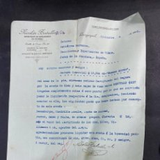 Cartas comerciales: CARTA COMERCIAL.NICOLAS BERTULLO & CO. GUAYAQUIL-ECUADOR, 1916. PARA GUTIERREZ HERMANOS.. Lote 211872636