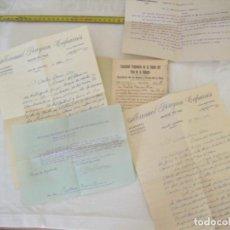 Cartas comerciales: JML LOTE CONJUNTO DOCUMENTOS COMUNIDAD PROPIETARIA FUENTE POZO DE LA HIGUERA PULPI ALMERIA 1940 VER. Lote 211958386