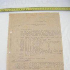 Cartas comerciales: JML CARTA TEMA MINERO MINAS SIERRA DE MORATA MINA SAUL MURCIA 19 DICIEMBRE 1942. VER FOTOS.. Lote 211971641