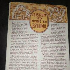Cartas comerciales: ANTIGUA CARTA COMERCIAL CURSOS CEAC, CARPINTERÍA. Lote 214230002
