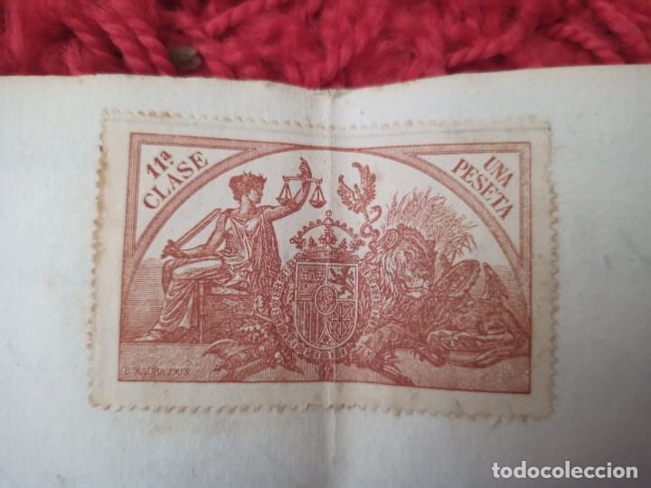 Cartas comerciales: Contratos de compraventa, 1893, con timbre, sellos y firmas adjuntos (2 documentos) - Foto 14 - 214250627