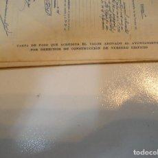 Cartas comerciales: AYUNTAMIENTO DE LA CORUÑA AÑO 1931 CARTA DE PAGO ACREDITANDO EL VALOR ABONADO AL AYUNTAMIENTO. Lote 215240392