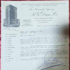 Cartas comerciales: CARTA COMERCIAL. R. G. DUN & Cº. THE MERCANTILE AGENCY. MADRID. ESPAÑA 1930. Lote 222167853