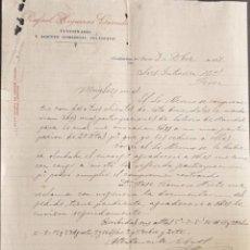 Cartas comerciales: CARTA COMERCIAL. RAFAEL HIGUERAS GARRIDO. VETERINARIO Y AGENTE COMERCIAL COLEGIADO. JAÉN.ESPAÑA 1927. Lote 222231871