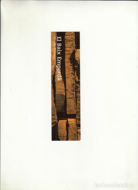 MARCAPÁGINAS. EL BAIX EMPORDÀ. TRIANGLE POSTALS. (Coleccionismo - Documentos - Cartas Comerciales)