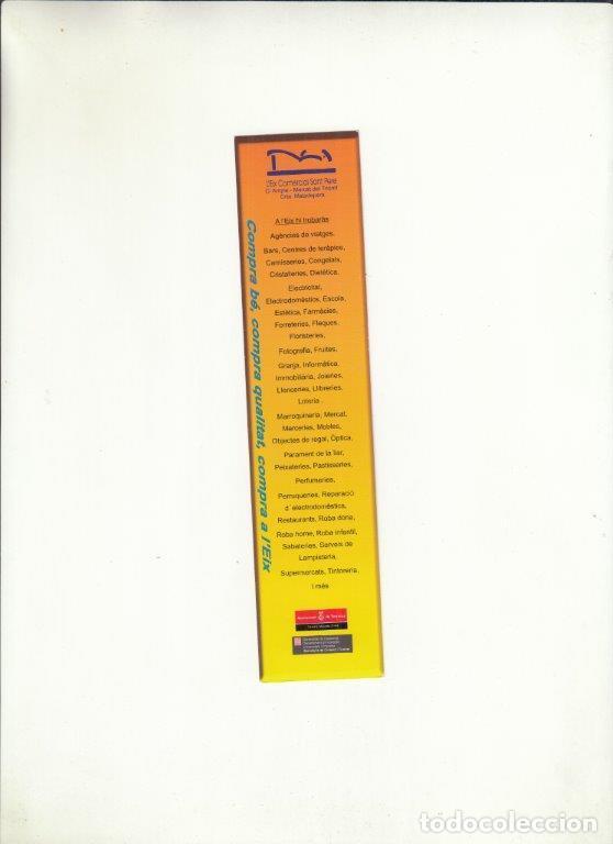 Cartas comerciales: MARCAPÁGINAS. CONVENT DELS CARMELITANS. SANT JORDI 2007. - Foto 2 - 222534363