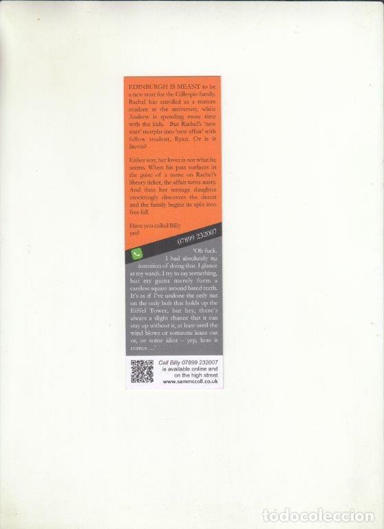 Cartas comerciales: MARCAPÁGINAS. SAM MCCOLL. - Foto 2 - 222536247