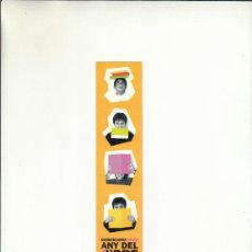 Cartas comerciales: MARCAPÁGINAS. BARCELONA 2005. ANY DEL LLIBRE I LA LECTURA. 2005.. Lote 222536441