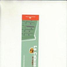Cartas comerciales: MARCAPÁGIAS. LA CALAIXERA DE LLENGUA I PAÍS.AJUNTAMENT DE GIRONA.. Lote 222537585